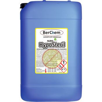 "AGROline  ""HYPOSTERIL"" 35kg (~30L) dezinfekantas aktyvaus chloro pagrindu"