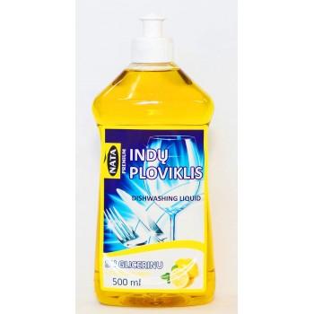"KONCENTRUOTAS INDŲ PLOVIKLIS ""NATA PREMIUM"" citrinų kv. 0,5L"